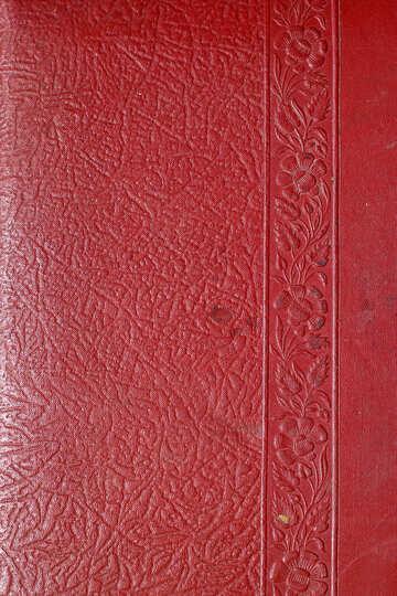 Красная кожа тиснение №33094