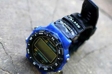 Retro digital watch №33511