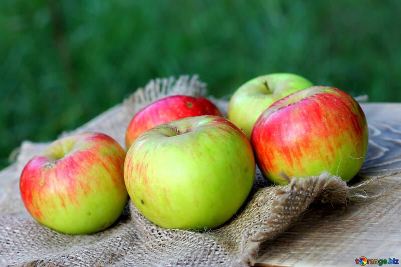 Ripe apples №33573