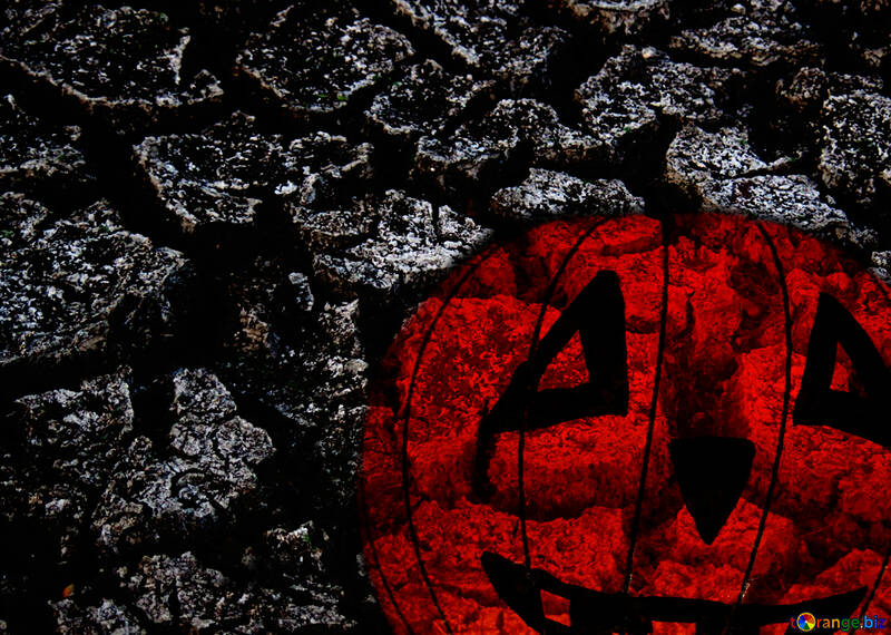 Carta di sfondo per auguri Halloween №33623