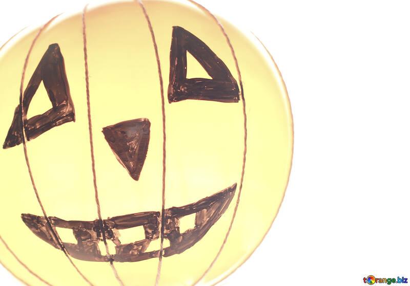 Light background on Halloween №33643