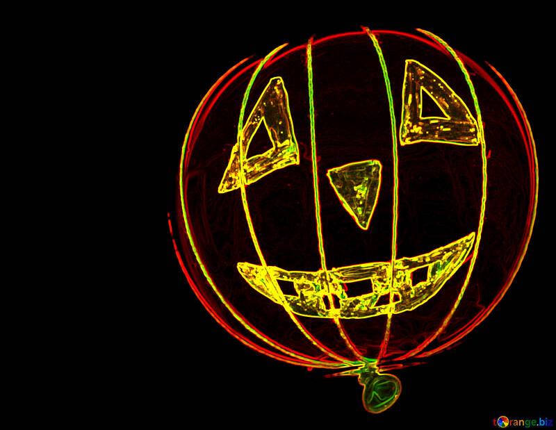 Neon Halloween №33644
