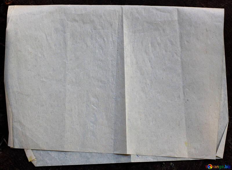 Velha folha de papel dobrada №33533