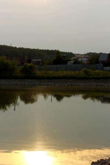 Artificial pond №34108