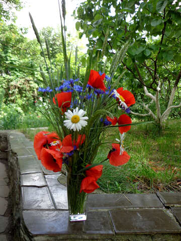 Rustic bouquet №34288