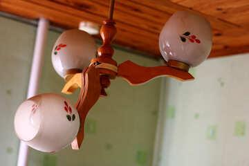 Broken chandelier №34545