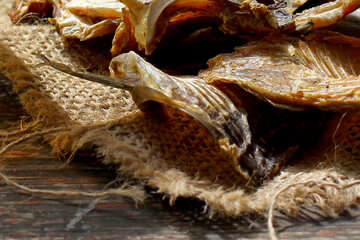 Dried fish large №34484