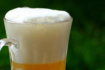 Bier Schaum №34502