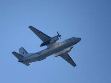 An-26 aircraft in the sky №34534