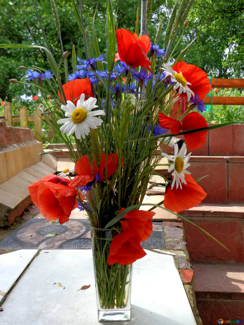 Bouquet of wild response rates №34287