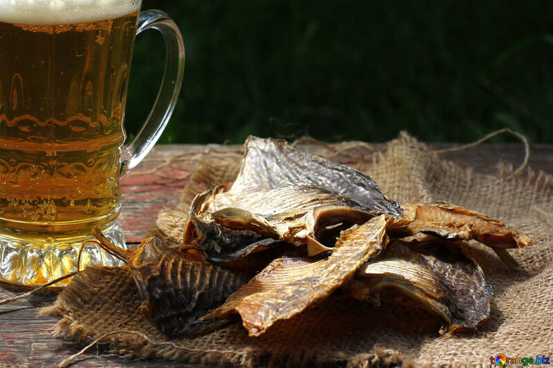 Dried fish for beer №34476