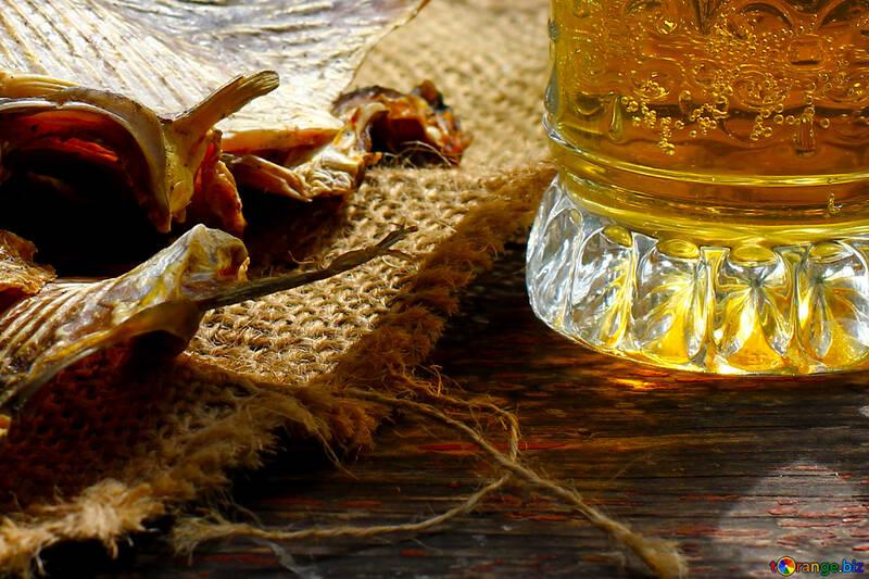 Bier mit Fisch №34483