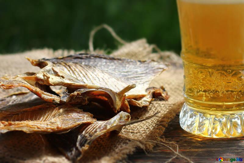 Bier mit Fisch №34490