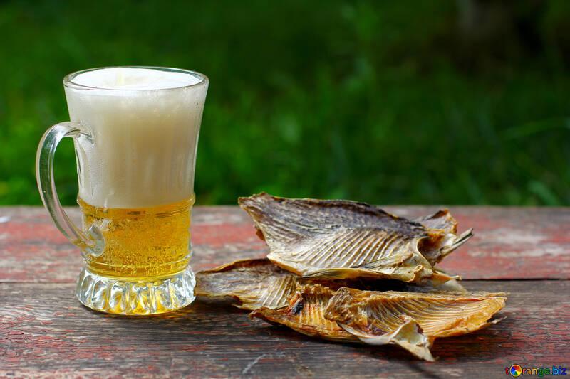 Salz Fisch und Bier-Becher №34513