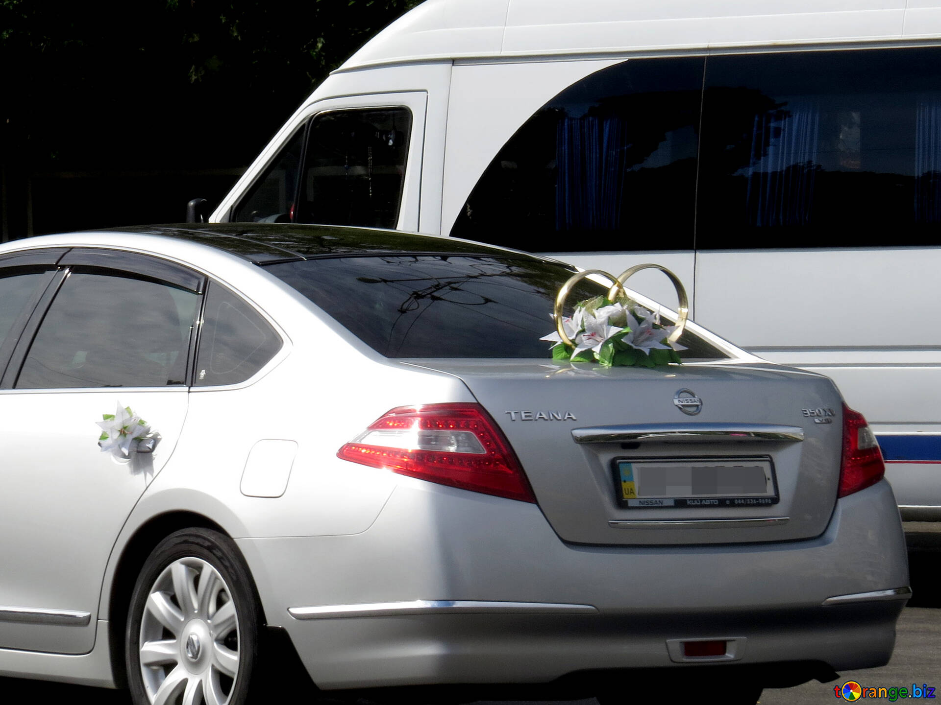 Wedding Decorations For Cars A Car For Wedding Tuning 35779