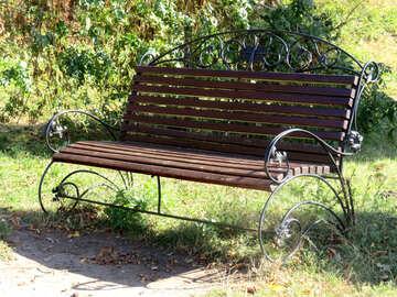 Beautiful bench №35980
