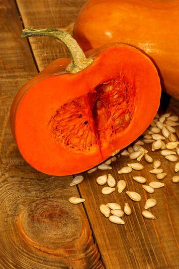Half of the pumpkin №35518