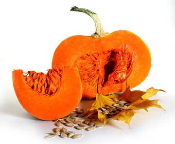 Pumpkin with no background №35566