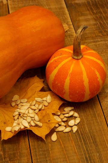 Pumpkin seeds and №35534