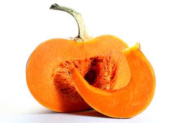 Pumpkin and slice