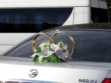 Wedding rings by car №35780