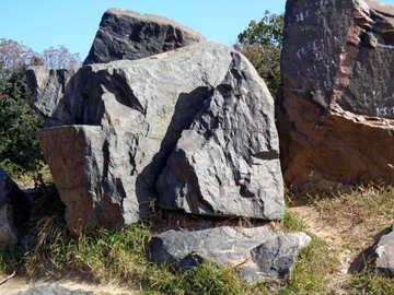 Large stones №35879