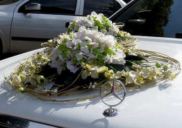 Flowers wedding cars №35772