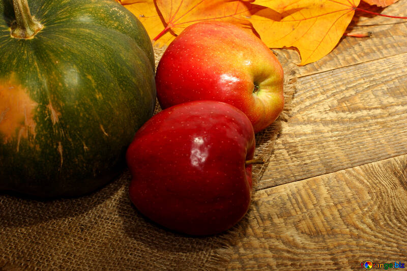 Apples and pumpkin №35160