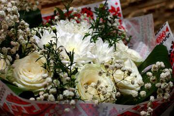 Bianco bouquet №36278