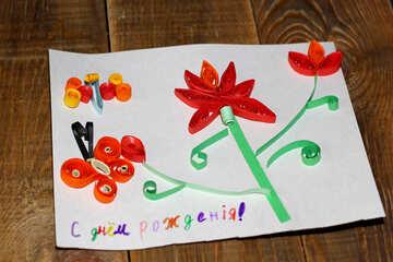 Children`s birthday card №36321