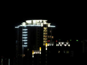 Подсветка дома №36827