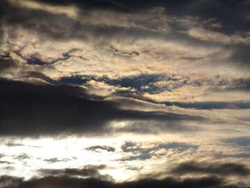 Cielo di sera №36428