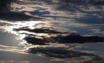 Il cielo d`estate la sera №36430