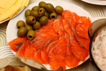 Salted salmon №36291