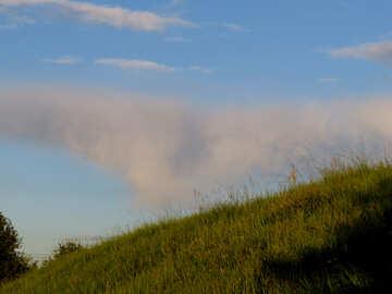 Slope in summer №36724