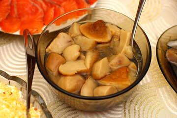 Marinated mushrooms №36293
