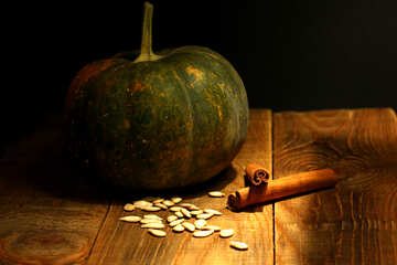 Still life with pumpkin №36047