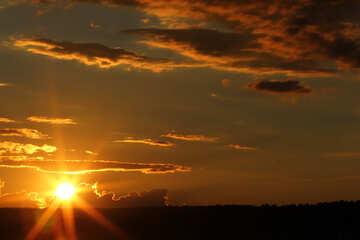 Los últimos rayos del sol №36483