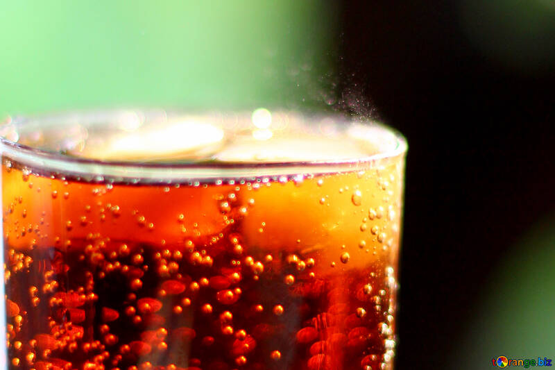 Cola with ice №36535