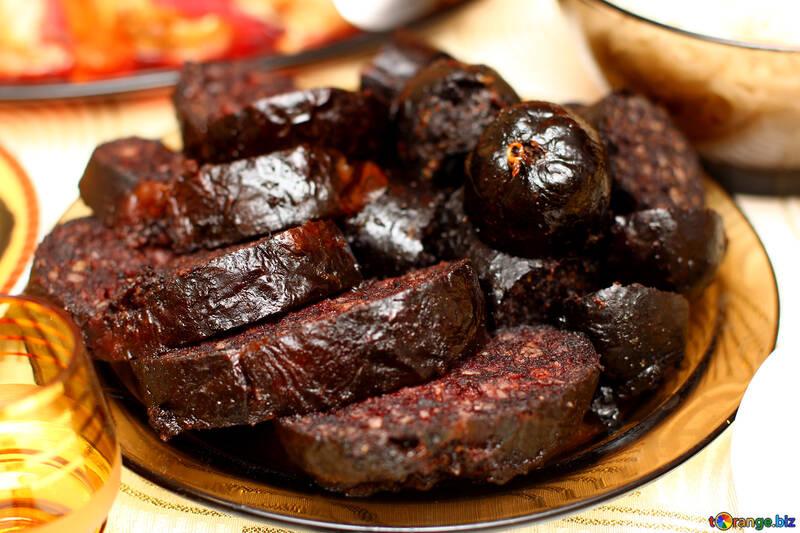 Black pudding №36310