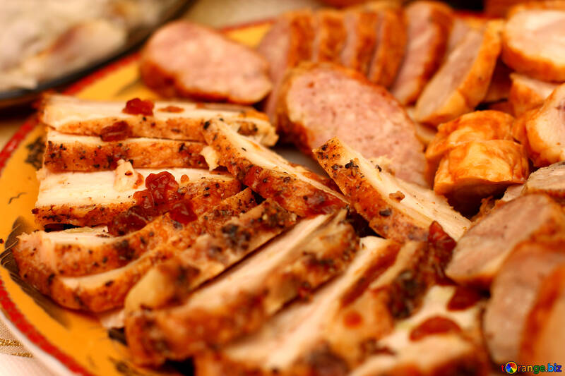 Homemade sausages №36299
