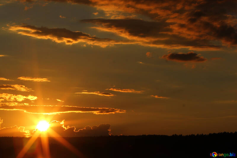 The last rays of the Sun №36483
