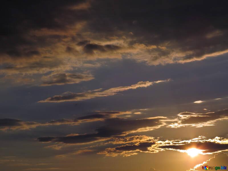 Ciel au coucher du soleil №36390