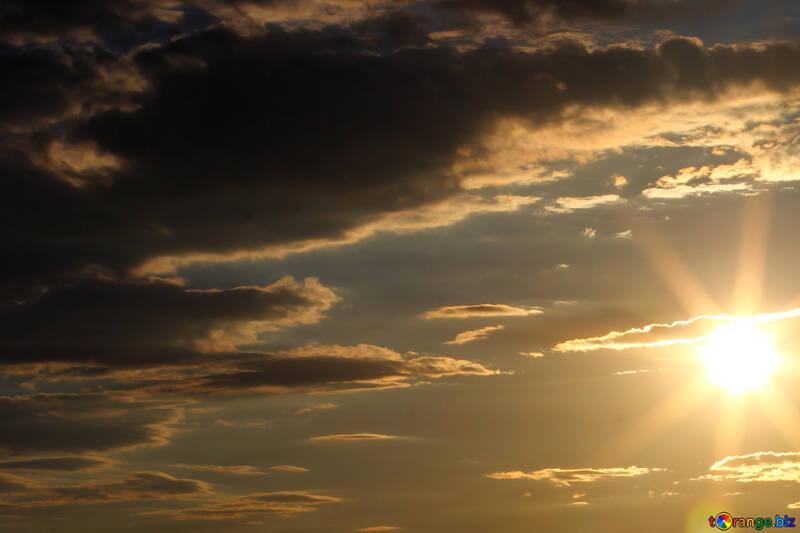 Sky at sunset №36503