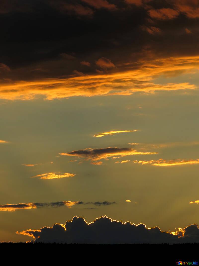 Sunlight at sunset №36377