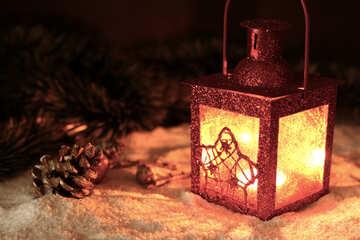 Christmas candle №37924