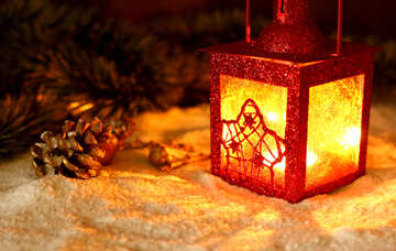 Lights candles for Christmas №37925