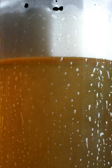 Texture beer cold glass №37763