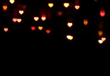 Огни сердечки №37851