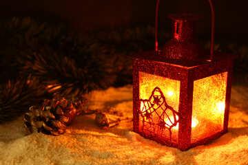 Christmas lantern №37920